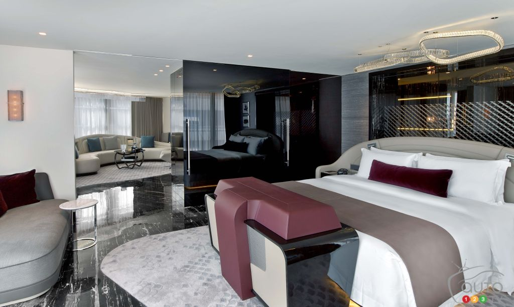 Bentley furniture isn't enough? Spend a night at a Bentley Suite!